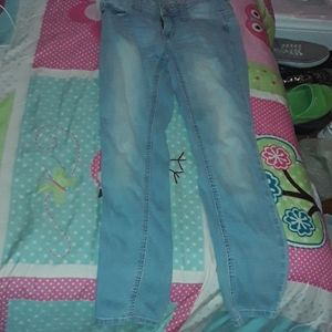Light blue Jean's